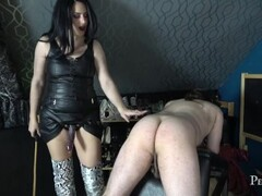 I will Make You Cry - Cock and Cane Party with Domina Jemma Thumb