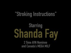 Canadian Wife Shanda Fay Gives Your Hard Cock A Handjob! Thumb