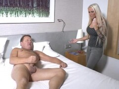 German StepNiece Caught StepUncle Jurgen Jerk and Help with Sex Thumb
