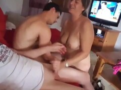 Wife jerks off me and her ex Thumb