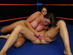 Big Tits MILFs Wrestling Match Thumb
