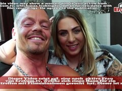 REAL SEXDATE - German Tattoo Slut pick up flirt and fuck for one night stand Thumb
